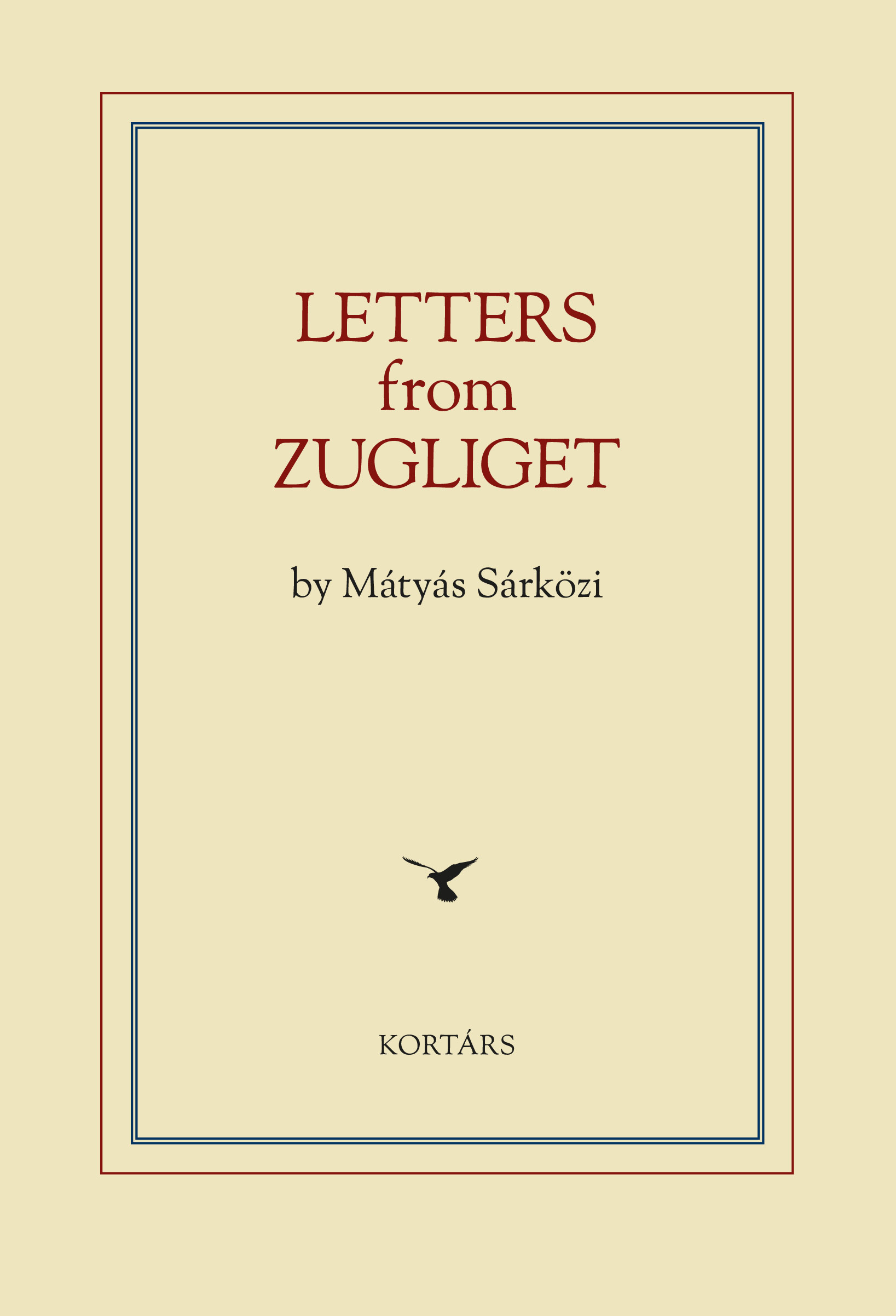 Letters from Zugliget